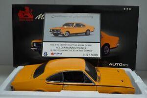 1:18 1970 Holden Monaro HG GTS 350 Indy Orange w/ Certificate Autoart