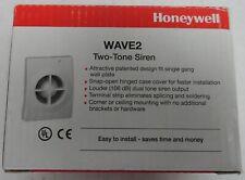 Honeywell Wave2 Two-Tone Siren, 106 dB, 12Vdc, New in Original Box (2A1.71.Jk)