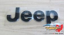 Jeep Grand Cherokee TrackHawk Hood Nameplate Emblem Decal Mopar New OEM