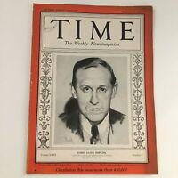 Time Magazine February 19 1934 Vol 23 #8 Former Sec. of Commerce Harry Hopkins