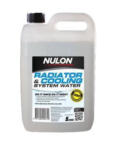 Nulon Radiator & Cooling System Water 5L fits Iveco Daily IV 29-25 S-L, 11-18...