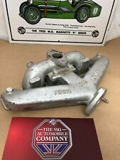 MG Y-Type Exhaust / Inlet  Manifold, New Condition, Never Fitted