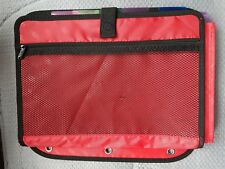 Case it 5 Tab File, Red