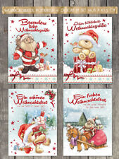 20 fröhliche Weihnachtskarten, Postkarten,  Nostalgie, 10,5 x 14,8 cm NEU!!!