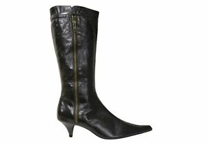 Brand New Orizonte Justine Womens Comfortable Leather Knee High Boots