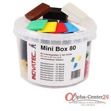 80 Kunststoff Unterlegplatten 60x40x1-20 in Box Abstandshalter Montageklötze