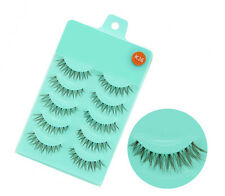 5Pairs K36 Fashion Beauty Makeup Handmade False Natural Long Eye Lashes Eyelash