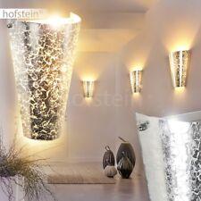 silberfarbene Up Down Wand Leuchten Design Flur Dielen Lampen Wohn Schlaf Zimmer