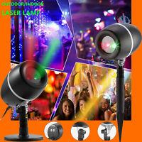 LED Night Light Projector Sensor Motion GHOST SANTA RUDOLPH FROZEN 60/%OFF