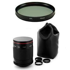 Albinar 500mm Mirror Lens for Canon EOS Rebel SL1 T2i T1i T4i Xsi T5i 7D T3 T3i