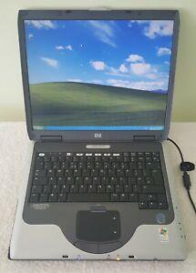 "Compaq NX9010 Laptop Notebook 15"" 1GB 40GB Floppy Parallel S-Video Windows XP"