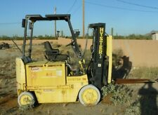 """New listing Hyster Electric Forklift Lift Truck Model E70Xl 54"""" Forks No Battery 6900Lb"""