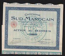Compagnie du SUD-MAROCAIN (MAROC) (F)