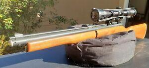 Vintage Sheridan / Benjamin C9 Blue Streak 5mm .20 Cal Pump Pellet Air Gun Rifle