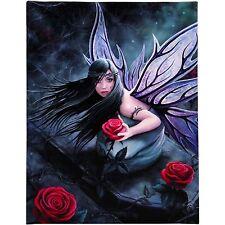 Rose Fée Anne Stokes Plaque Murale Rouge Gothique Fantaisie Art Tableau Toile