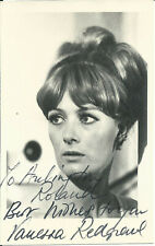 VANESSA REDGRAVE SMALL-SIZED ORIGINAL & VINTAGE HAND SIGNED AUTOGRAPHED PHOTO