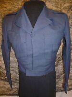 Vintage (1951) USAF 100% Wool Blue-84 34 S Serge Dress Ike Jacket Korean War Era
