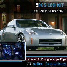 Replacement Blue Interior Upgrade Package LED light Kit For Nissan 350Z 2003-08