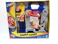 J-1  NEW Tonka Chuck Tumble Tower Fold N Go new dump truck set playset