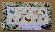 INSECTS 2008 BUCKINGHAM FDC SIGNED BY 'BUTTERFLIES' ACTRESS WENDY CRAIG