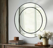 Round MIRROR-ART DECO-bedroom metro dressing leaning Diameter 100CM