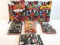 Power Rangers Mega Fuerza Gokaiger Mini Pla Maji Dragón Pato Striker Gaolion De