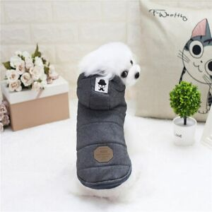 Pet Dog Thicken Clothes Cotton Winter Jacket Dogs Cat Clothing High Quality 1Pc