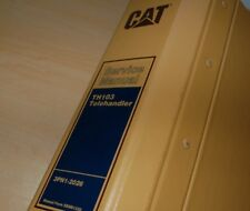 Caterpillar TH103 Telehandler Forklift Repair Service Manual maintenance shop