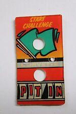 BALLY CORVETTE Pinball Machine USED Plastic