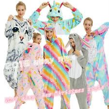 Unisex Adults Cartoon Animal Kigurumi Pajamas Cosplay Sleepwear Costumes Jumpsui