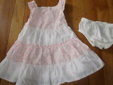 GYMBOREE SIZE 0 - 3 MONTHS DRESS CHURCH MINT EUC SUMMER PARTY SPECIAL OCCASION
