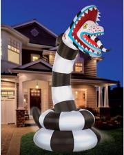 8.9 Ft Sandworm Inflatable Halloween Decoration - Beetlejuice Yard Decor