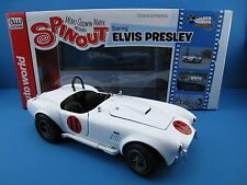 1965er Shelby Cobra 427 S/C  Elvis Presley  Auto World  1:18   NEU  OVP