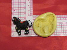 Horse Silicone Push Mold A36 For Craft Cake Chocolate Resin Fondant