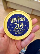 Harry Potter 20 years of magic Iron On Patch rare htf independent bookstore day