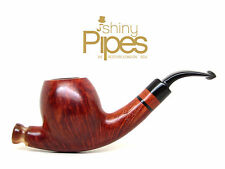 L. Viprati Hand Made L'Antica Straight Grained Estate Pipe - i21