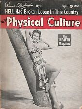 PHYSICAL CULTURE MAGAZINE APRIL 1948 ISSUE CYD CHARISSE COVER