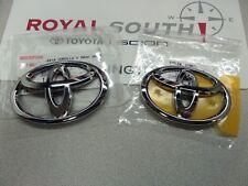 Toyota Scion FR-S FT86 GT86 Chrome Emblems Kit Genuine OEM OE
