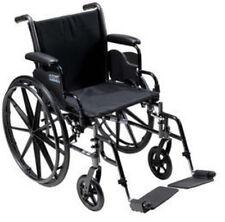 Drive Medical Cruiser III Light Weight Wheelchair W/ Flip Back Arm k318adda-elr