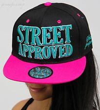 Premium snapback caps, mens, ladies bling flat peak club baseball hats, dance