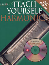Teach Yourself Learn To Play The Harmonica DVD Book NEW