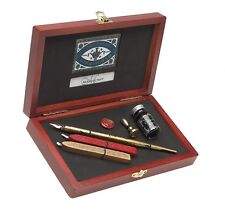 Manuscript Victoriana Writing & Sealing Calligraphy Pen Set