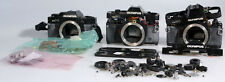 OLYMPUS OMPC BODIES FOR PARTS GROUP OF 3