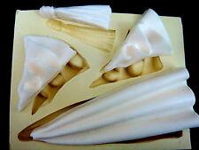 Silicone Mold Fondant Mould Sugarcraft Moulds Cupcake Clay -Drape Large