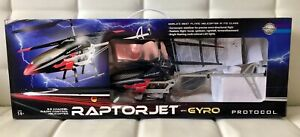 Protocol RaptorJet with Gyro - Radio Controlled RC Helicopter