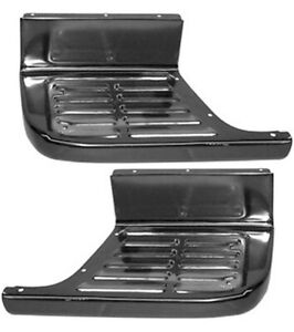 67-72 Chevy/GMC C10 Shortbed Stepside Bed LH& RH Side Step Plates
