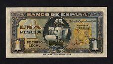 F.C. 1 PESETA SEPTIEMBRE 1940 , SERIE D , MBC+ .