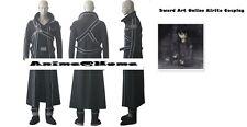 New Top Quality Sword Art Online Kirito SAO Avatar Costume S-XL