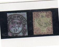 Gran Bretaña Monarquias Valores del año 1887-900 (DI-316)