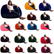 1 PC Velvet Soft Bean Bag Cover Fully Washable (Without Beans) Free Shipping